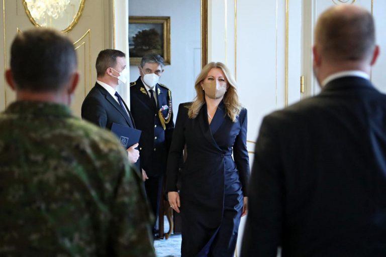Čaputová Nagy prezidentsky palac
