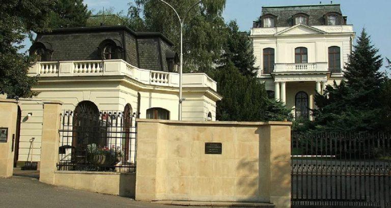 ruske velvyslanectvo v prahe