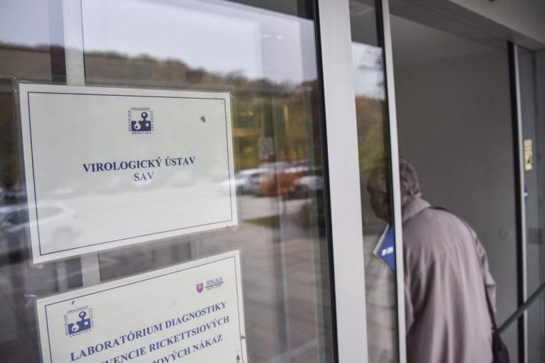 priestory Biomedicínskeho centra SAV v Bratislave