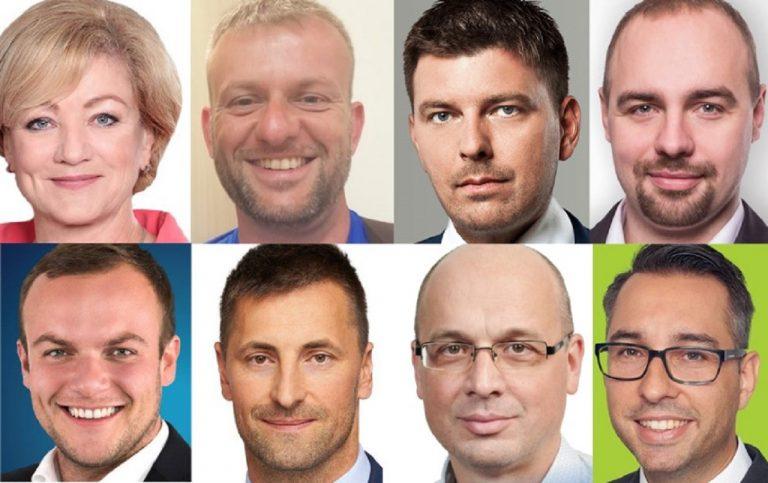 Ľubica Laššáková, Eduard Kočis, Martin Borguľa, Andrej Medvecký, Miroslav Žiak, Marián Viskupič, Miroslav Urban, Peter Cmorej