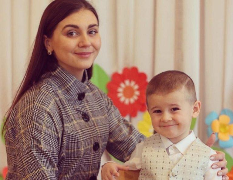Vladik a mama