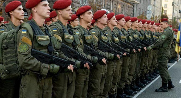 ukrajina vojaci