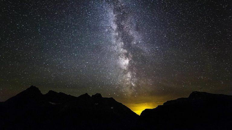 žlté gule Mliečnej dráhy