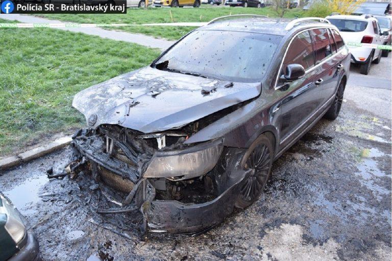 auto, vyšetruje polícia