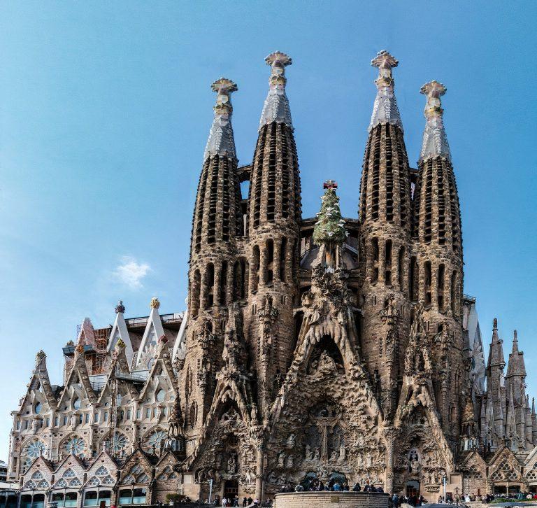 Bazilika Sagrada Familia Barcelona
