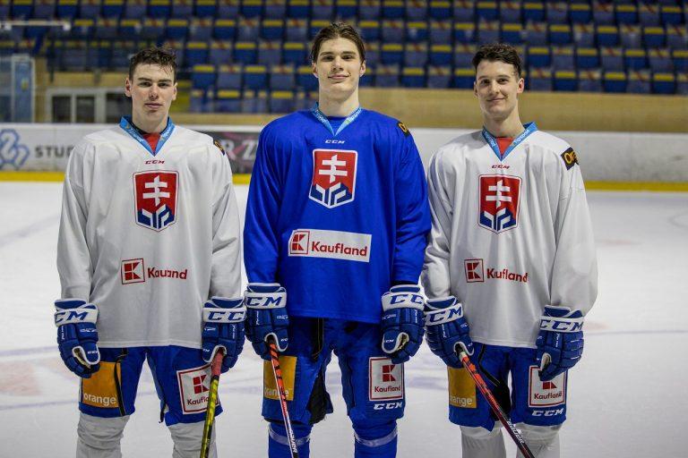 Slafkovsky Nemec Knazko SR hokej reprezentacia
