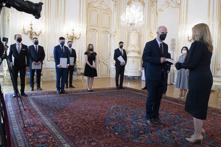 Prezidentka vymenovala do funkcie siedmich sudcov všeobecných súdov