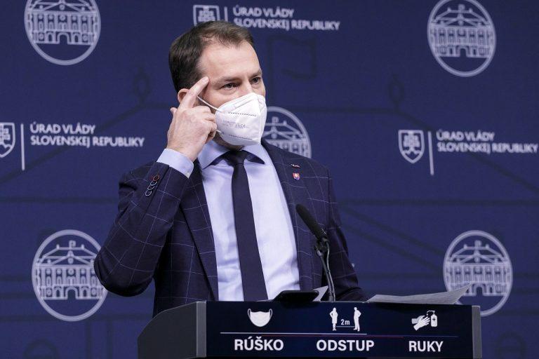 podpredseda vlády a minister financií SR Igor Matovič