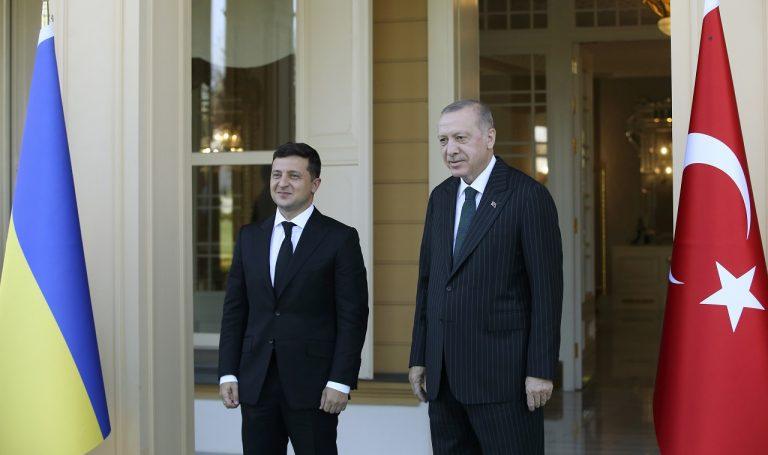 Recep Tayyip Erdogan, Volodymyr Zelenskyj