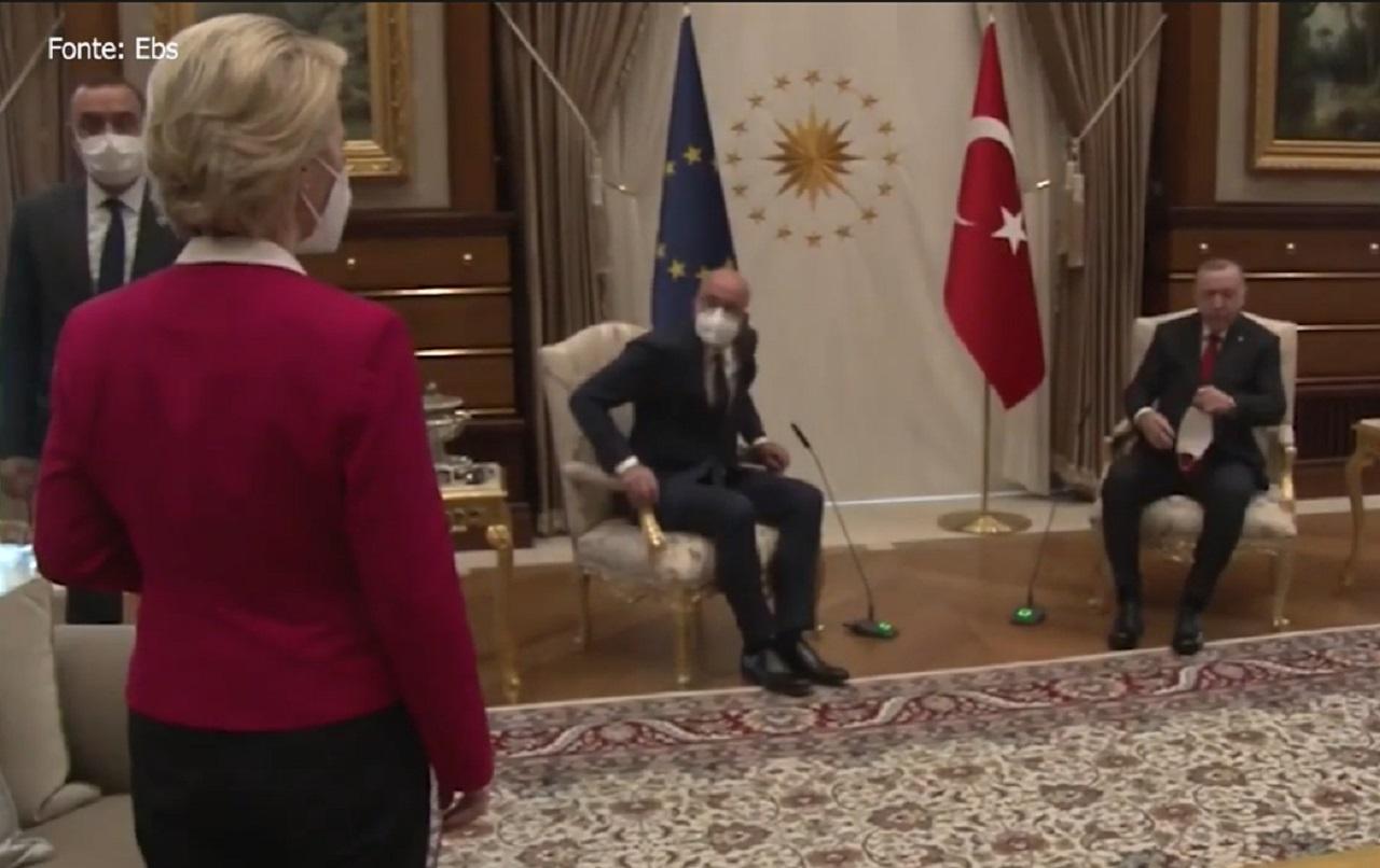 erdogan, von der Leyenová
