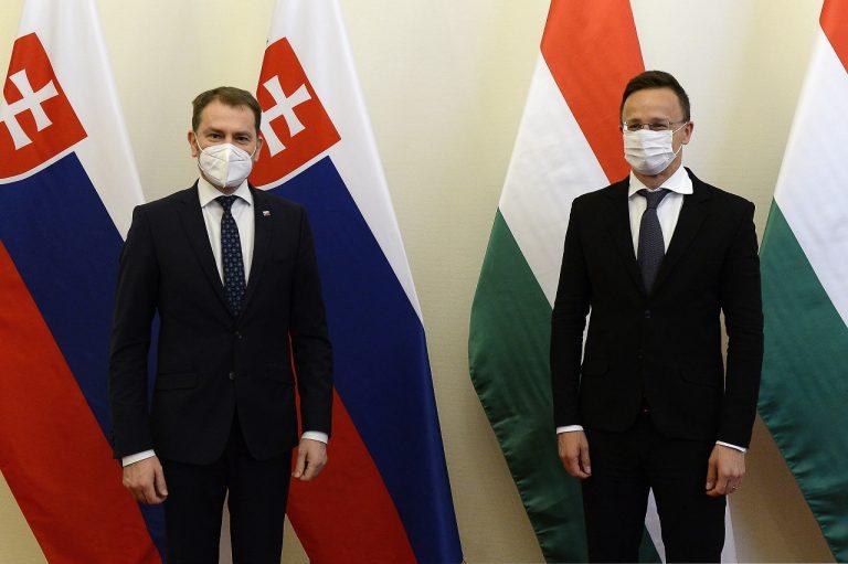 Péter Szijjártó Igor Matovič stretnutie