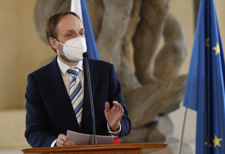 český minister zahraničných vecí Jakub Kulhánek