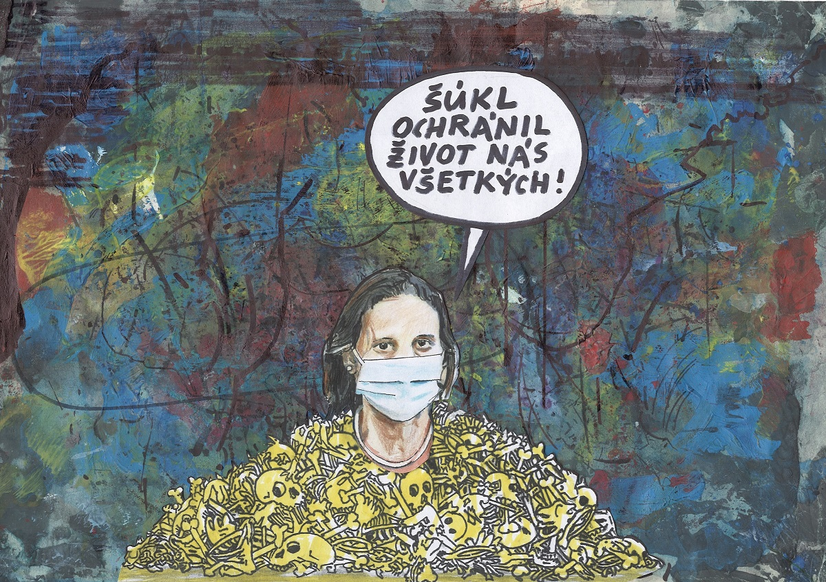 Karikatúra Andreja Mišanka