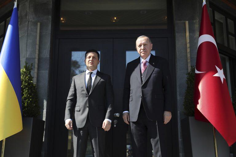 Zelenskyj sa stretol s Erdoganom