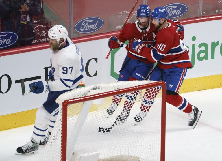 Tomáš Tatar Montreal Canadiens - Toronto Maple Leafs