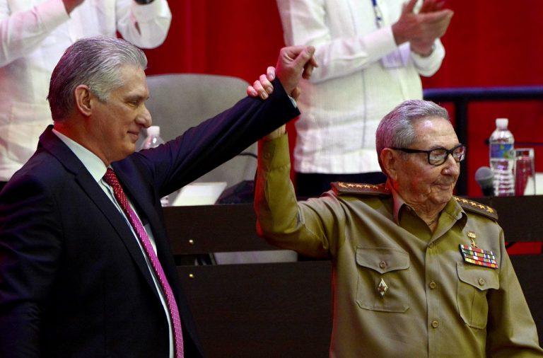 Miguel Díaz-Canel Raúl Castro