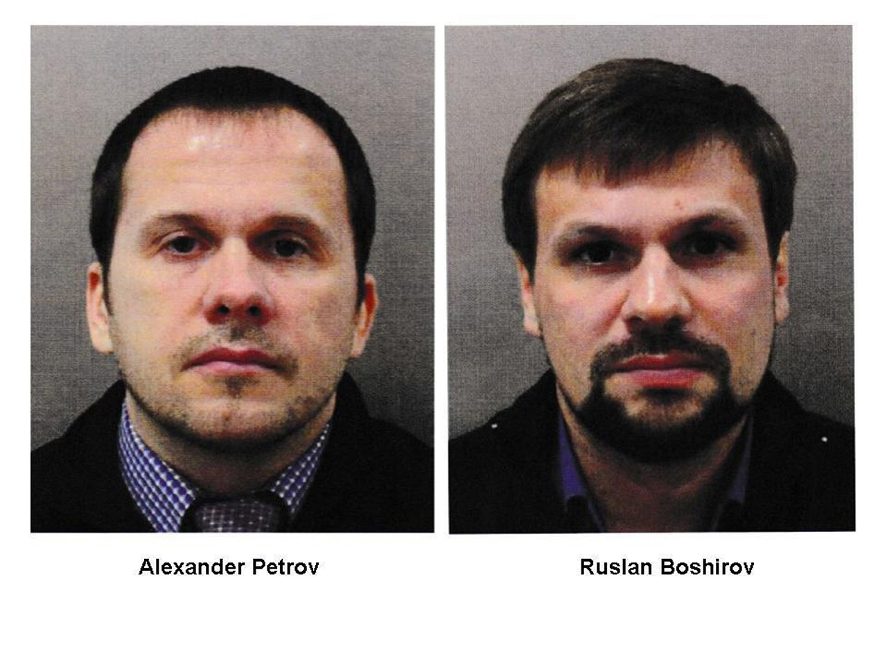 Ruslan Boširov a Alexander Petrov