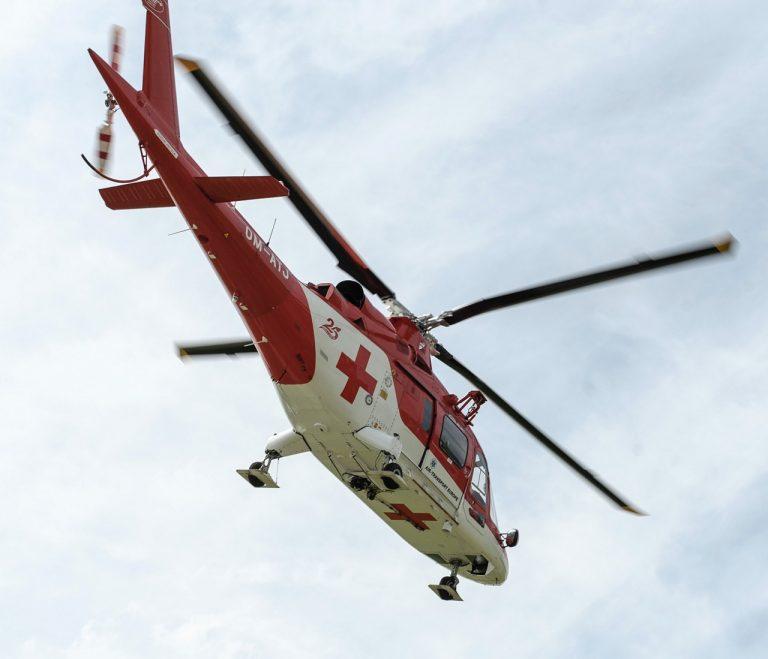 vrtuľník Leteckej záchrannej služby