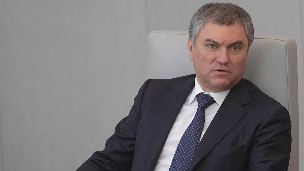 predseda Štátnej dumy Vjačeslav Volodin