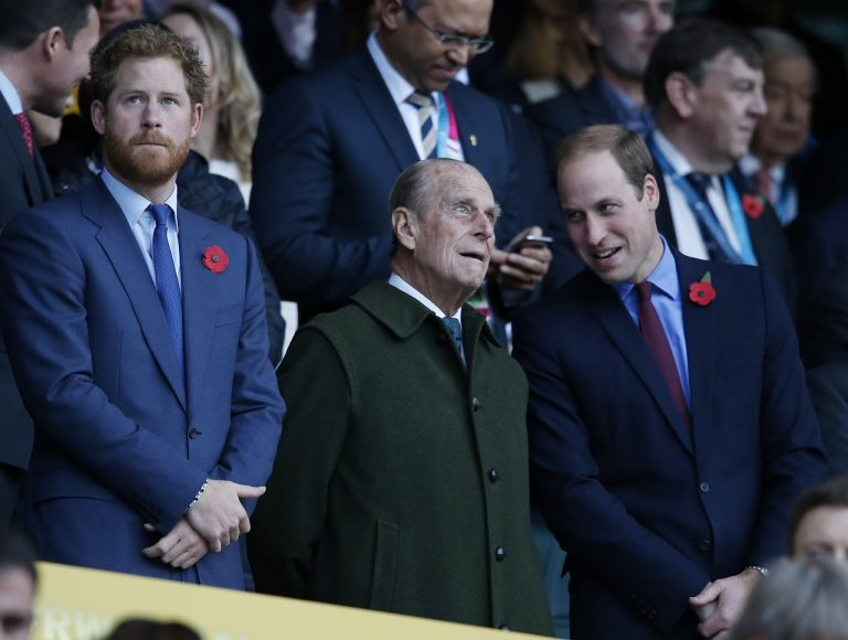Harry, William, Philip