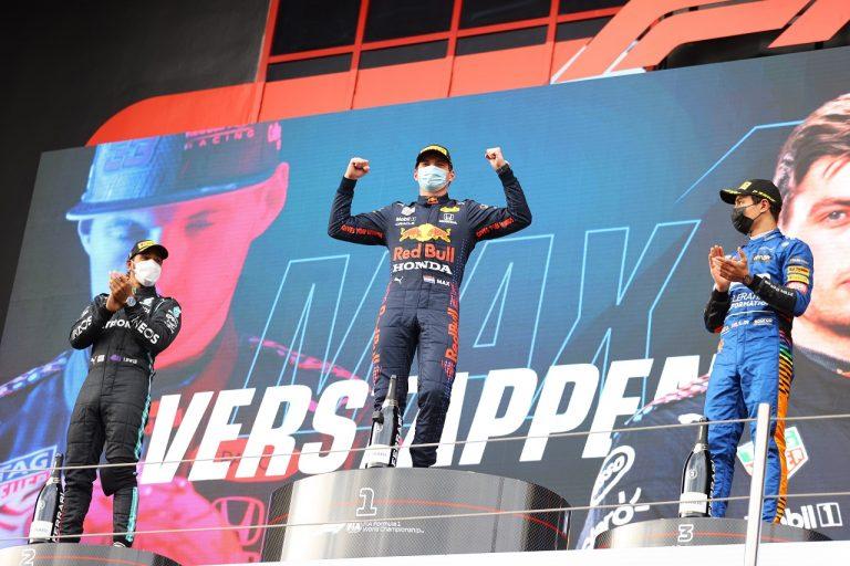 Verstappen, Hamilton, Norris