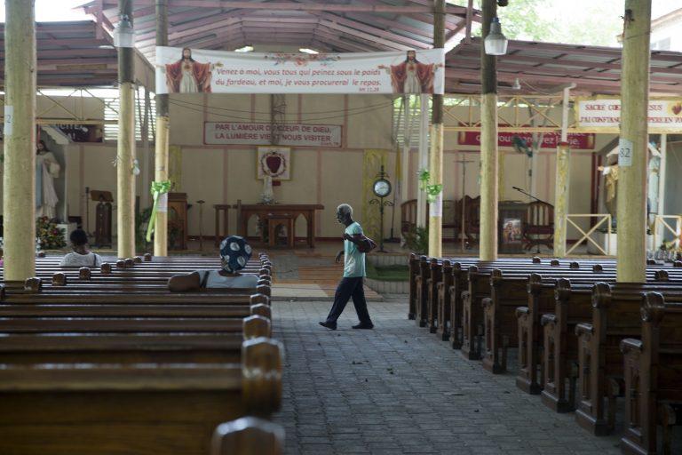 Haiti kostol