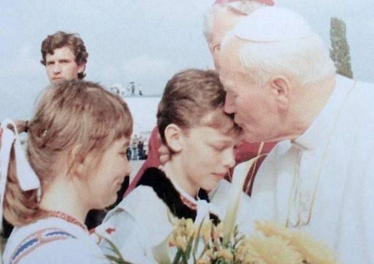 Ján Pavol II na návšteve