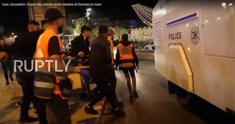 Jeruzalem policia zasah