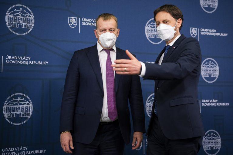 Eduard Heger, Boris Kollár tlaèová konferencia k ïalšej pomoci pre gastro a cestovný ruch