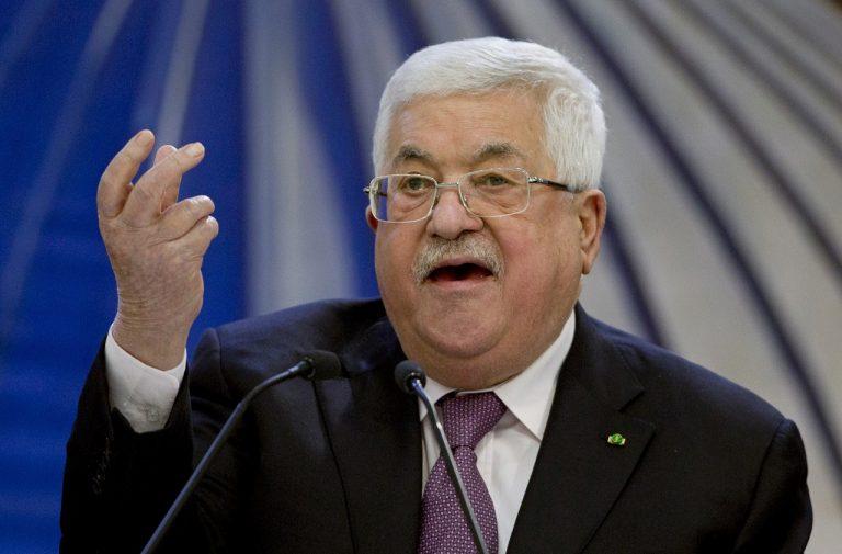 Mahmúd Abbás palestinsky prezident