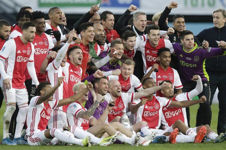 Ajax Amsterdam futbal Holandsko