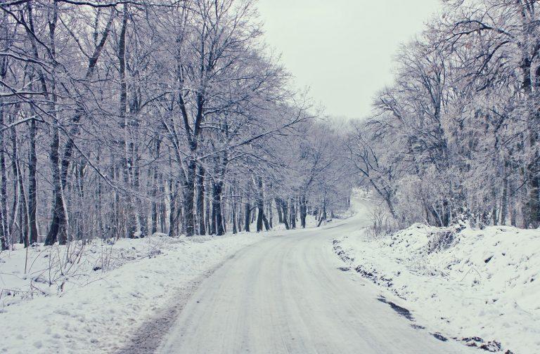 Zima, sneh