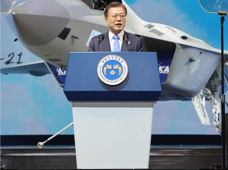 Južná Kórea prezident Mun Če-in