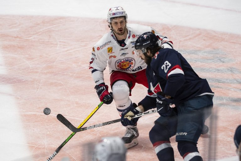 Slovan - Zvolen hokej play off
