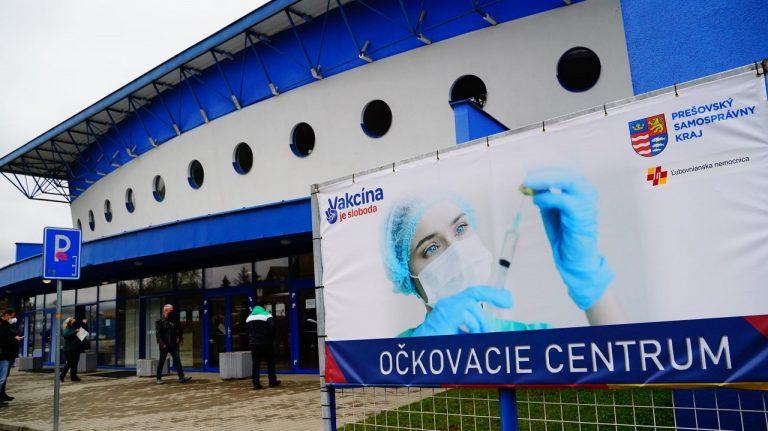 Veľkokapacitné očkovanie centrum SL