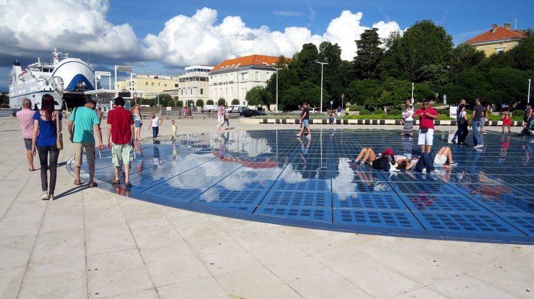 turisti v Chorvátsku