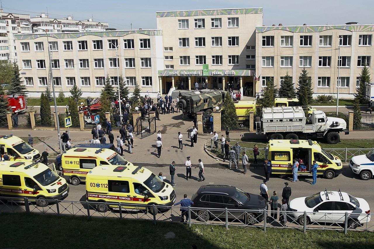 Streľba v škole v Kazani má 11 obetí