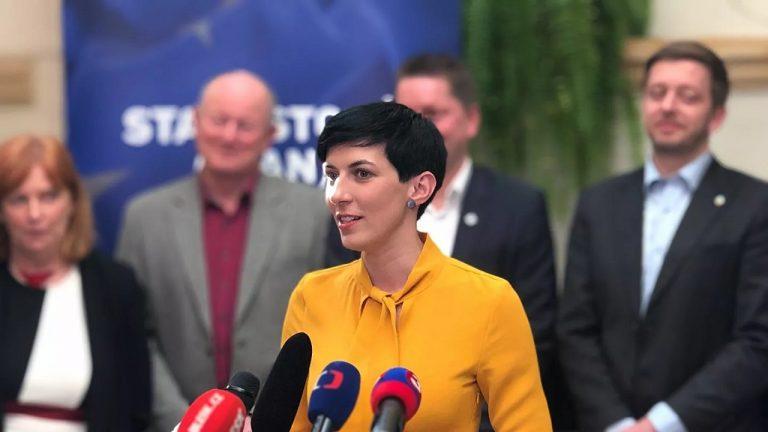 Predsedníčka TOP 09 Markéta Pekarová Adamová