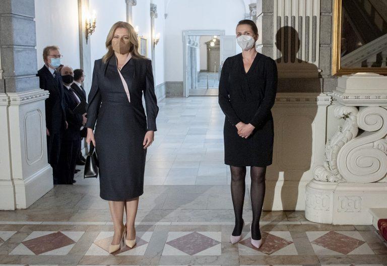 Prezidentka SR, dánska premiérka