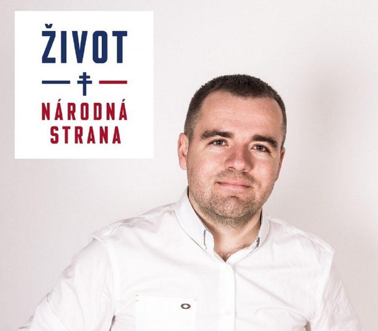 zakladateľ politickej strany ŽIVOT-NS a právnik JUDr. Marek Géci