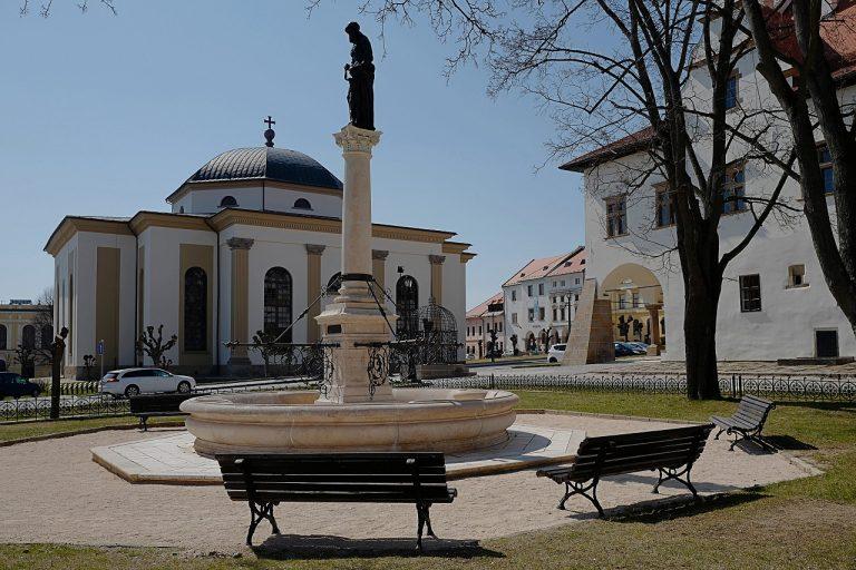 Námestie Majstra Pavla v Levoči