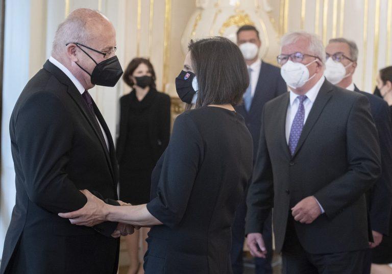 Prezidentka vymenovala Pavla Naďa za predsedu Najvyššieho správneho súdu SR