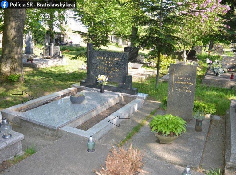 krádež na cintoríne
