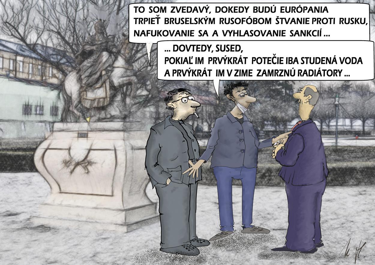 Dokedy budú bruselsí rusofóbi štvať proti Rusku