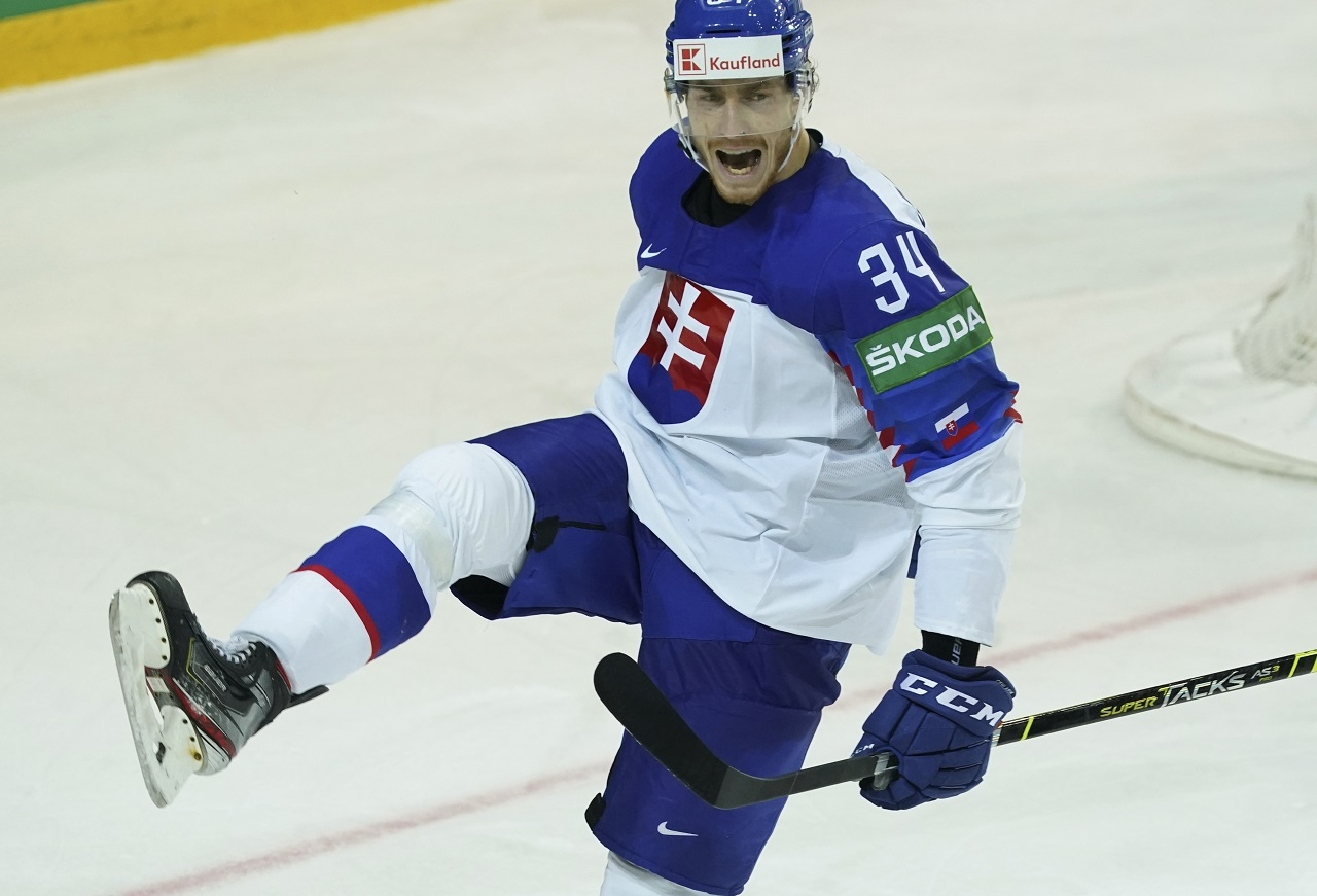 Slovensko - Dánsko Peter Cehlárik