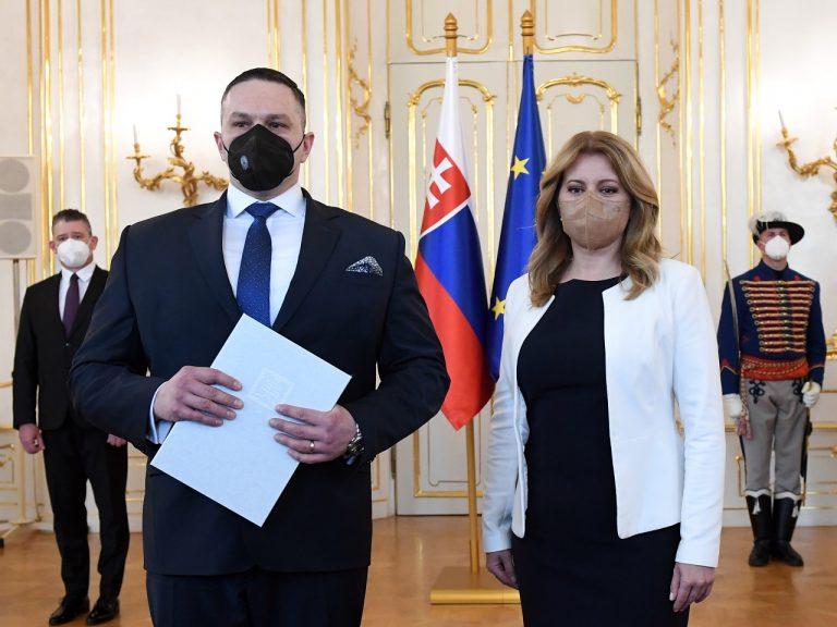 nový riaditeľ SIS Michal Aláč Zuzana Čaputová