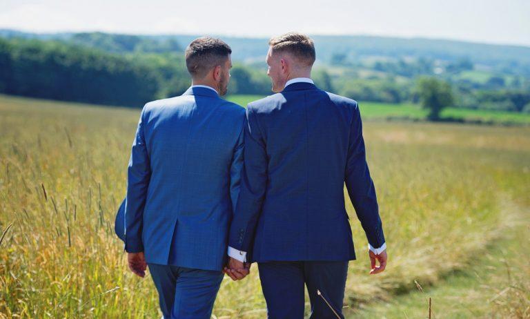 pár, láska, muži, homosexuáli, gayovia