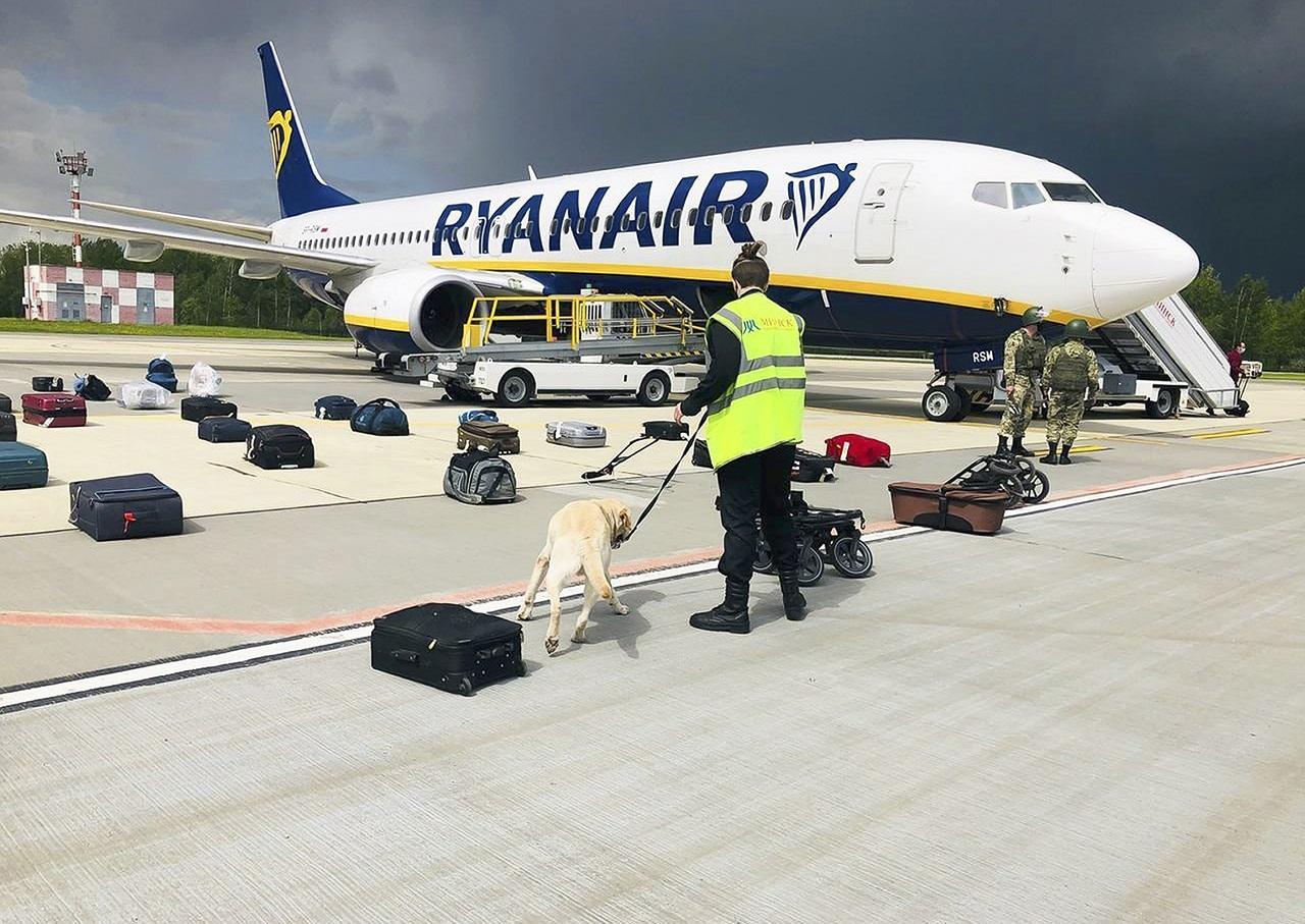 Raman Pratasevič Ryanair