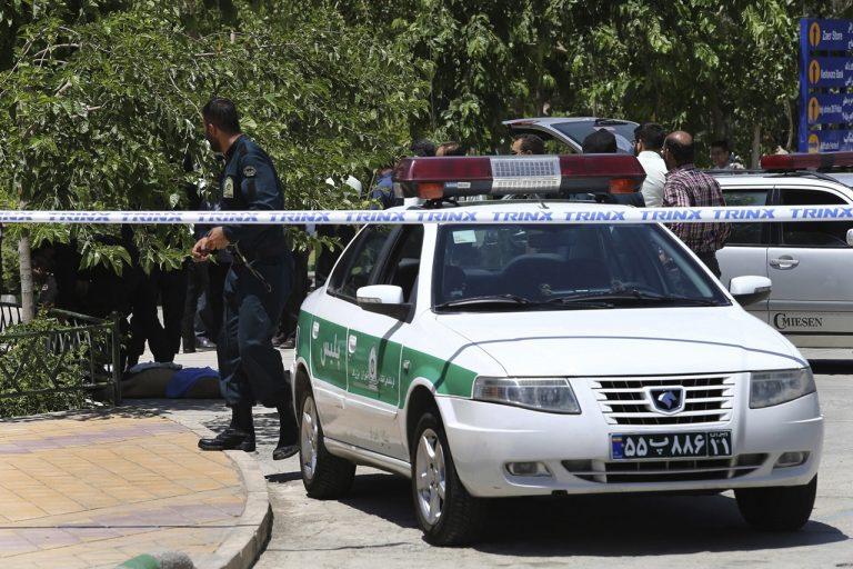 iránska polícia