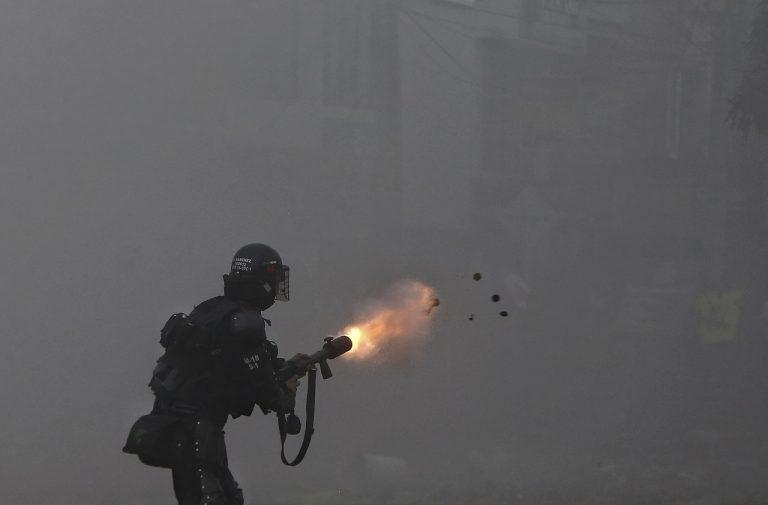 Kolumbia protesty